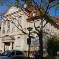 Rathaus Uhr instandgesetzt Oktober 2018